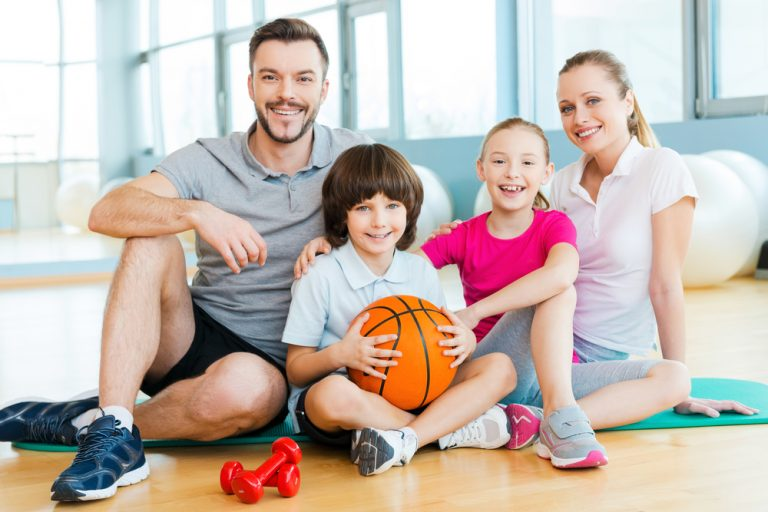 Family Sports at Home