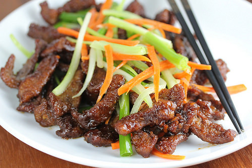 Sichuan Beef Tips