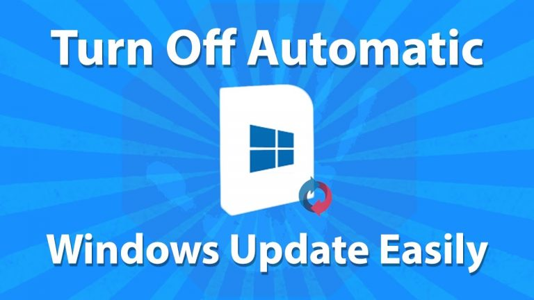 Turn off Windows Update – Overview