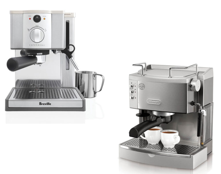 How To Choose Between Breville and Delonghi Automatic Coffee Maker Machines