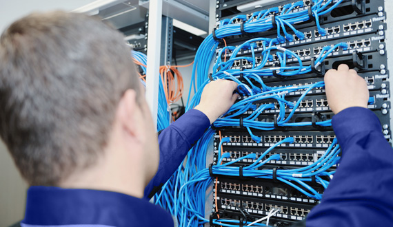 Structured Network Installation in Santo André