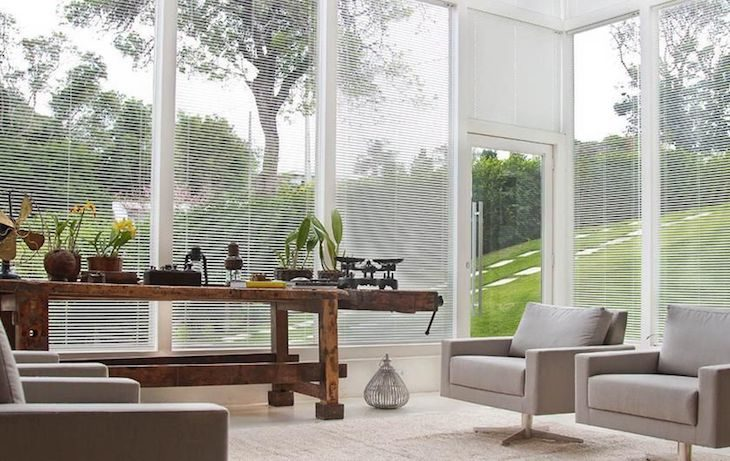 Glass Wall With Shutter – An Easy Solution to Decorate Your Home